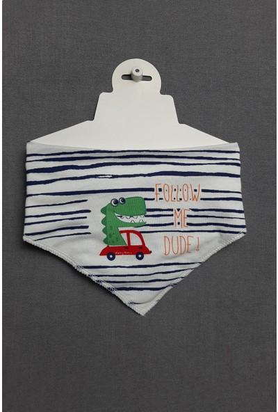 Baby Bibs Araba Desenli Fular Önlük