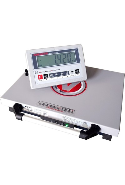 Arester Wrs-Lcd Kablosuz Taşınabilir Baskül 35 x 35 cm 150 kg