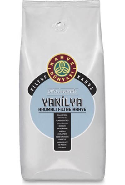 Kahve Dünyası Vanilya Aromalı Filtre Kahve Çekirdek 1 Kg.