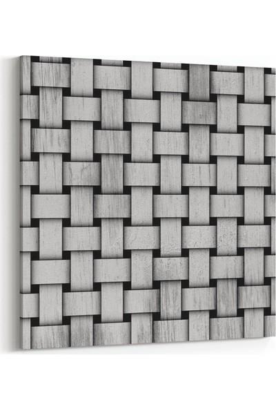 Olla 10025 Abstract 3 Boyut Görsel Kare Kanvas Tablo
