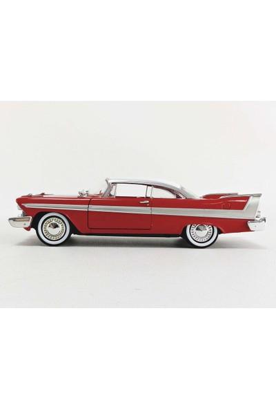 Greenlight 1:24 Christine 1958 Plymouth Fury Model Araba (Yurt Dışından)
