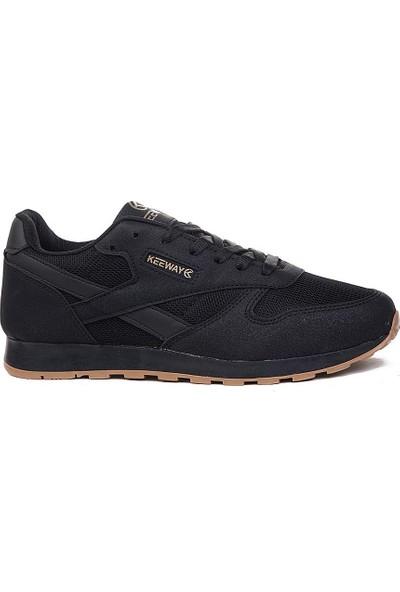 Keeway Siyah Siyah Spor Ayakkabı