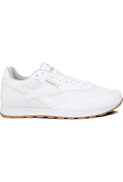 Keeway Beyaz Spor Ayakkabı