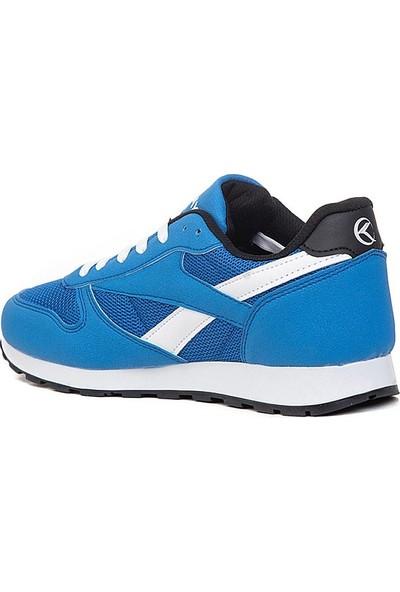Keeway Saks Mavi Spor Ayakkabı