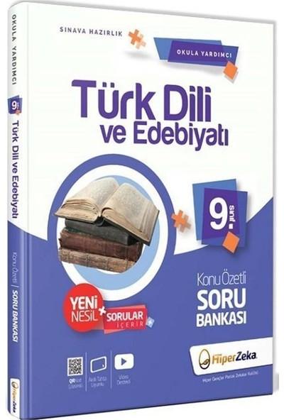 Hiper Zeka 9. Sınıf Türk Dili ve Edebiyatı Konu Özetli Soru Bankası