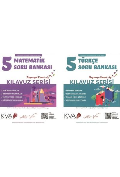 Koray Varol Kılavuz Serisi 5. Sınıf Matematik-Türkçe Soru Bankası Seti