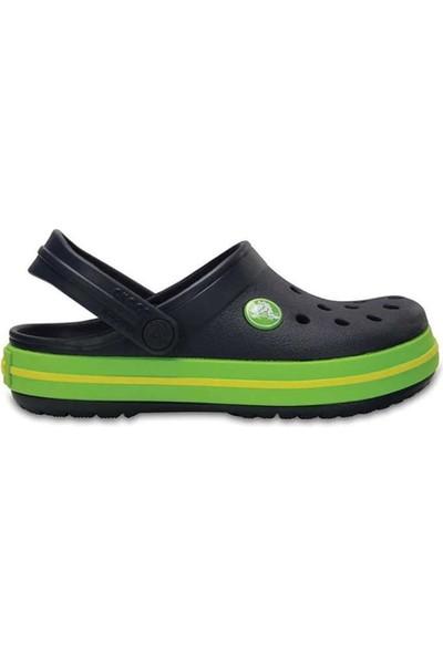 Crocs 204537-4K6-C Yeşil Crocband Çocuk Terlik