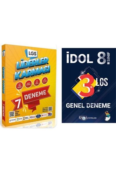 Idol Yayınları 8. Sınıf LGS Deneme + Liderler Karması