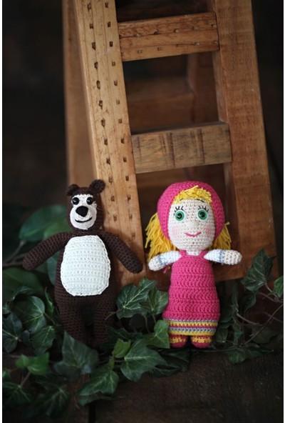 Milly&Molly Maşa ile Koca Ayı Uyku/oyun Arkadaşı