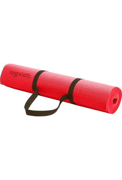 Amazonbasics Kırmızı Yoga ve Pilates Matı
