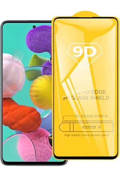 Yakuppolt Samsung Galaxy A71 Için 9d Full Kaplama Ekran Koruyucu Tempered