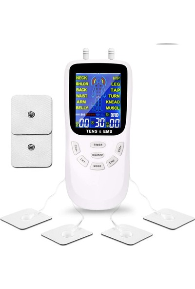 Trendfone SL-100 Color Fizik Tedavi Tens/masaj Aleti-Dijital Ekran Çift Kanallı