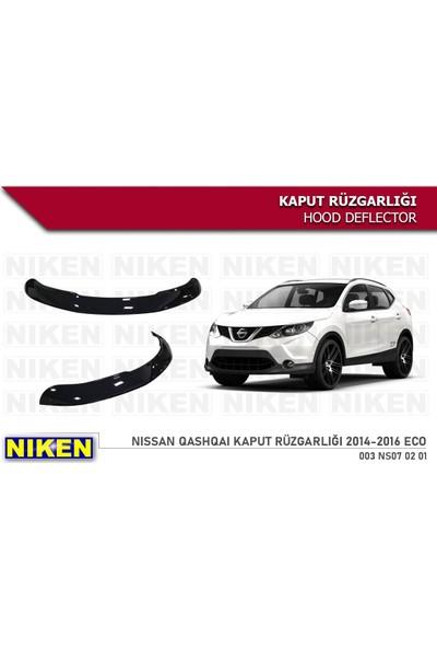 Niken Nissan Qashqai Kaput Rüzgarlığı Koruyucu 2014 / 2017