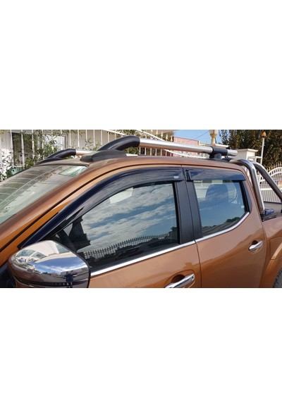 Niken Nissan Navara Cam Rüzgarlığı Oem 2016+ NP300