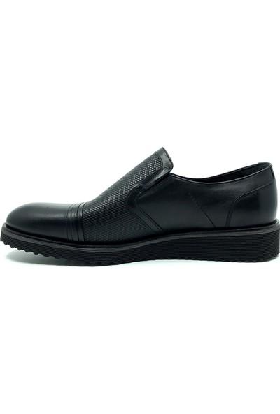 Fosco Siyah Hakiki Deri Günlük Erkek Ayakkabı 8502 46 763
