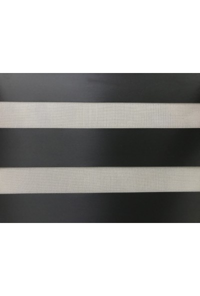 Perle Home Siyah Renk Stor Zebra Perde Sytlish Series