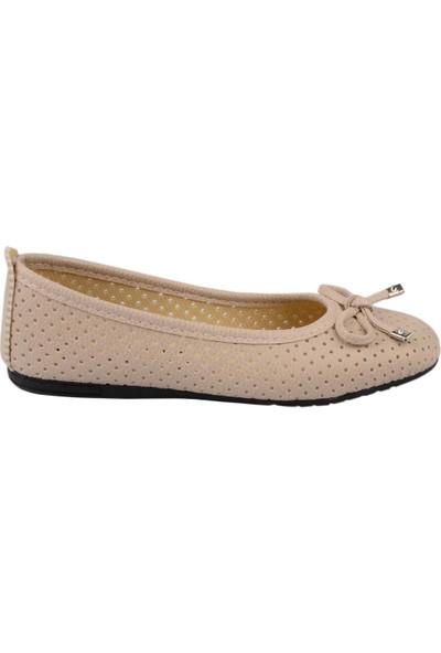 Diğer Odesa Krem Kadın Günlük Babet Ayakkabı