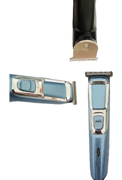 Mkey 1017 Kuaför Tipi Profesyonel Şarjlı Saç Sakal Kesme Tıraş Makinesi Erkek Tıraş Makinesi