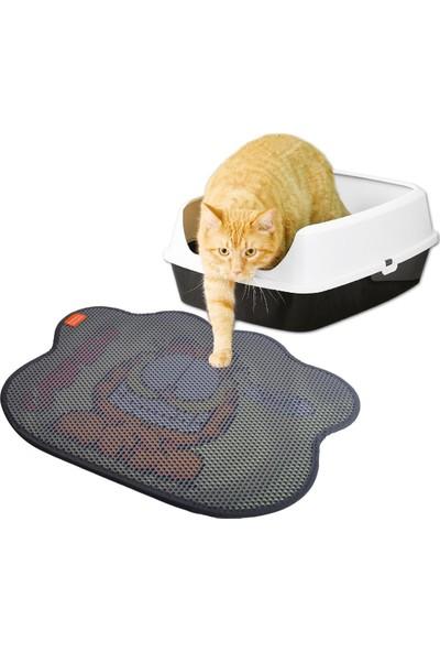 Garfield Kedi Kumu Paspası Pati Şekilli Never Trust A Smiling Cat