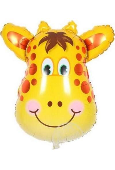 Asya Aksesuar Zürafa Temalı Balon Parti Malzemesi