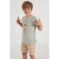 Penti Erkek Çocuk Veg-T Healthy 2li Pijama Takımı