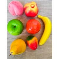 Avda 7 Adet Yapay Meyve Dekoratif Meyve Köpük Meyve