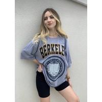 Maniz Store Berkeley Baskılı Oversize Tişört