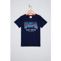 U.S. Polo Assn. Erkek Çocuk Lacivert T-Shirt 50238503-VR033
