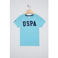 U.S. Polo Assn. Erkek Çocuk Yeşil T-Shirt Basic 50232275-VR093