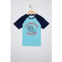 U.S. Polo Assn. Erkek Çocuk Yeşil T-Shirt 50238406-VR093