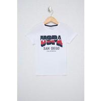 U.S. Polo Assn. Erkek Çocuk Beyaz T-Shirt 50238503-VR013