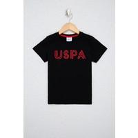 U.S. Polo Assn. Erkek Çocuk Siyah T-Shirt 50238371-VR046