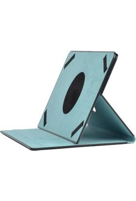 "Bizimgross Piranha 8032 8.0"" Tablet Kılıfı Universal Standlı Kılıf Turkuaz"