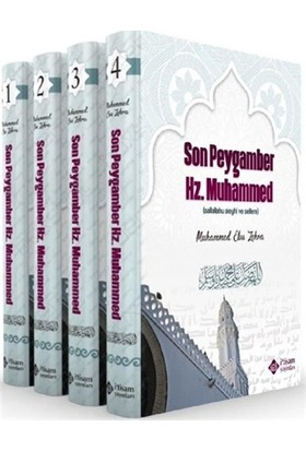 Son Peygamber Hz. Muhammed Seti (4 Kitap Takım) Ciltli - Muhammed Ebu Zehra