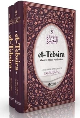 Et-Tebsira - Basiret Ehline Nasihatler Seti (2 Kitap Takım)Ciltli - Ebul Ferec Ibnu'l Cevzi