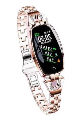 Lemfo Sh8 Bayan Akıllı Saat Su Geçirmez Bluetooth