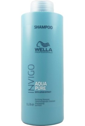 Wella Invigo Aqura Pure Arandırıcı Lotus Özlü Şampuan 1000 ml
