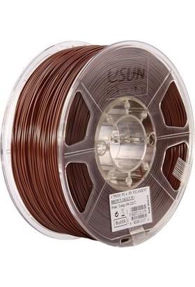 eSUN 1.75 mm Pla+ Filament - Kahverengi