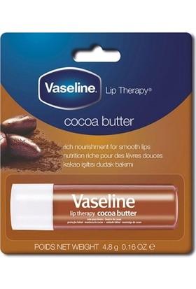 Vaseline Dudak Balmı Set 2'li Cocoa Butter Dudak Bakım Balmı 4,8gr + Rosy Llips Lip Care