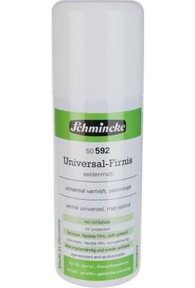 Schmincke Universal Varnish Genel Amaçlı Uv Korumalı Saten Sprey Vernik 150 ml
