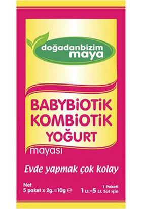 Doğadan Bizim Babybiotik Kombiotik Yoğurt Mayası 5'li Paket