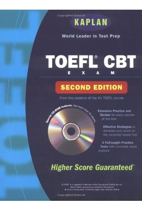 Kaplan Toefl Cbt W/cd-Rom, 2nd Edition