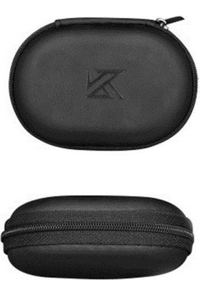 Kz Pu Kulaklık Mini Taşıma Çantası Siyah