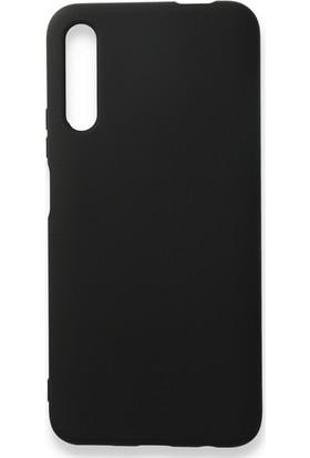 Moserini Huawei P Smart Pro Lansman Telefon Kılıfı - Arka Kapak- Pürüzsüz Soft Yüzey - Siyah