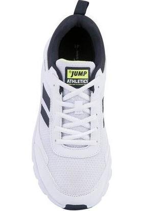 Jump 24718 Beyaz Erkek Spor Ayakkabı