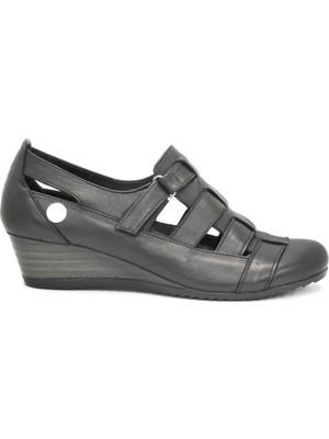 Mammamia D21YA 385 Siyah Bayan Ayakkabı Casuel