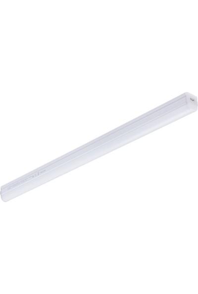 Philips 20W 4000K Kırık Beyaz Işık 120CM Tezgah Altı LED Bant Armatür + 20 cm Kablo