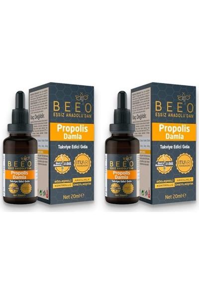 Bee'O Beeo Propolis Damla 2 x 20 ml