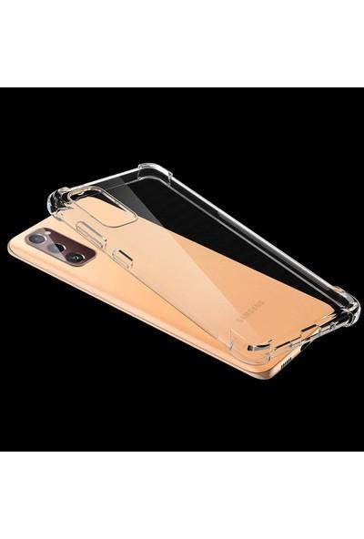 Coverest Samsung Galaxy S20 Fe Ultra Ince Şeffaf Airbag Anti Şok Silikon Kılıf