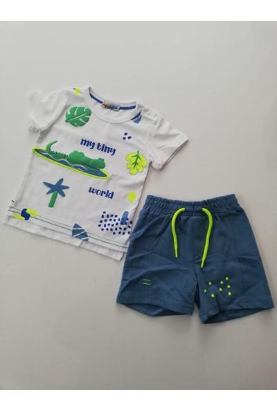 Mackays Erkek Çocuk T-Shirt Şortlu Takım